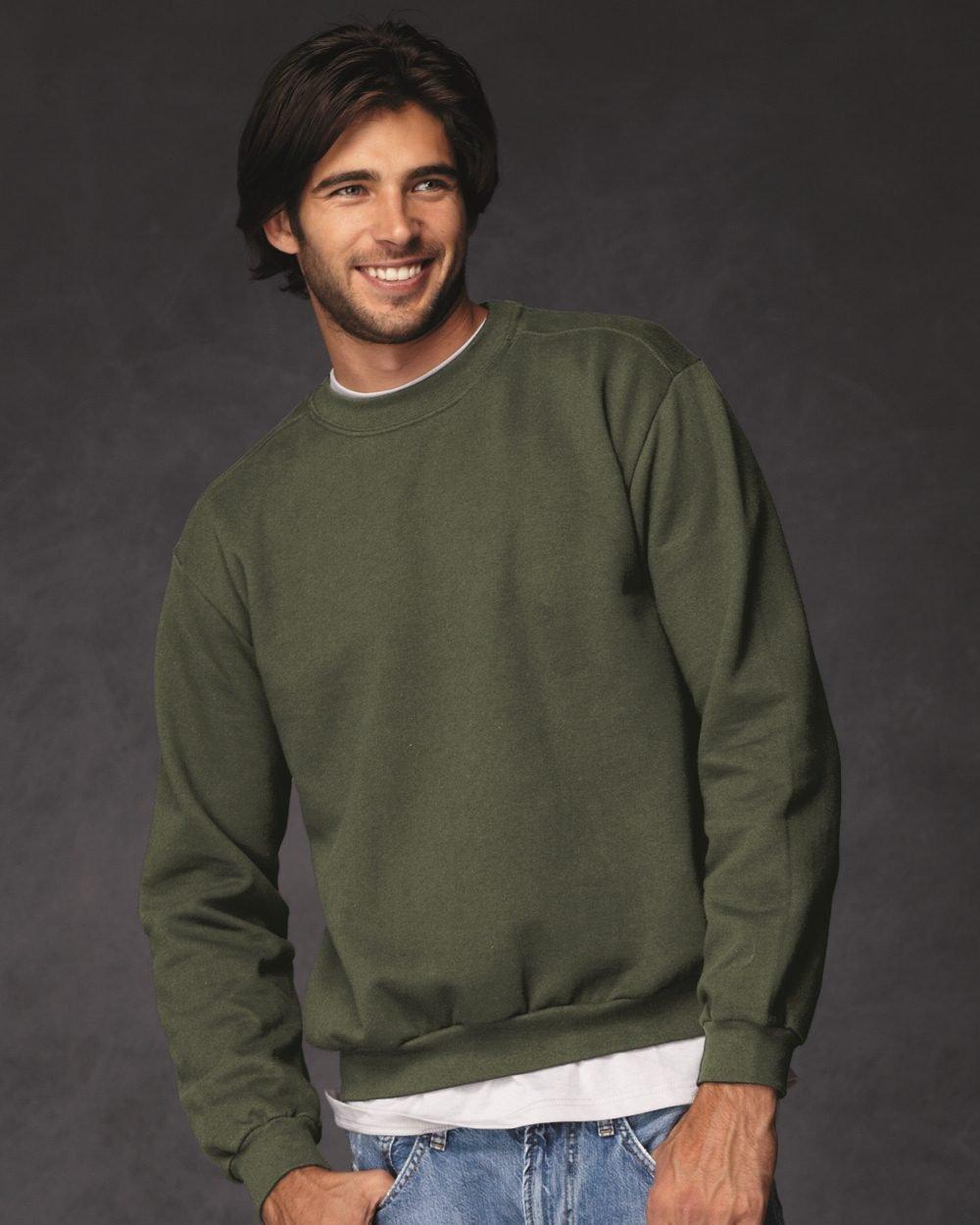 35a433400 Anvil Ringspun Crewneck Sweatshirt 71000