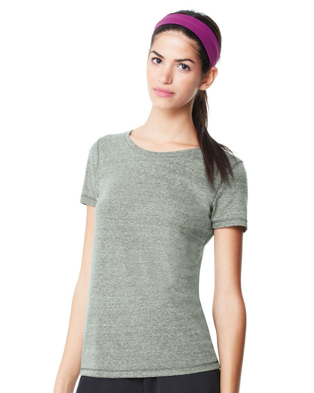af3fbc19 alo - Ladies' Triblend Short Sleeve T-Shirt - W1101 - Evan Webster INK