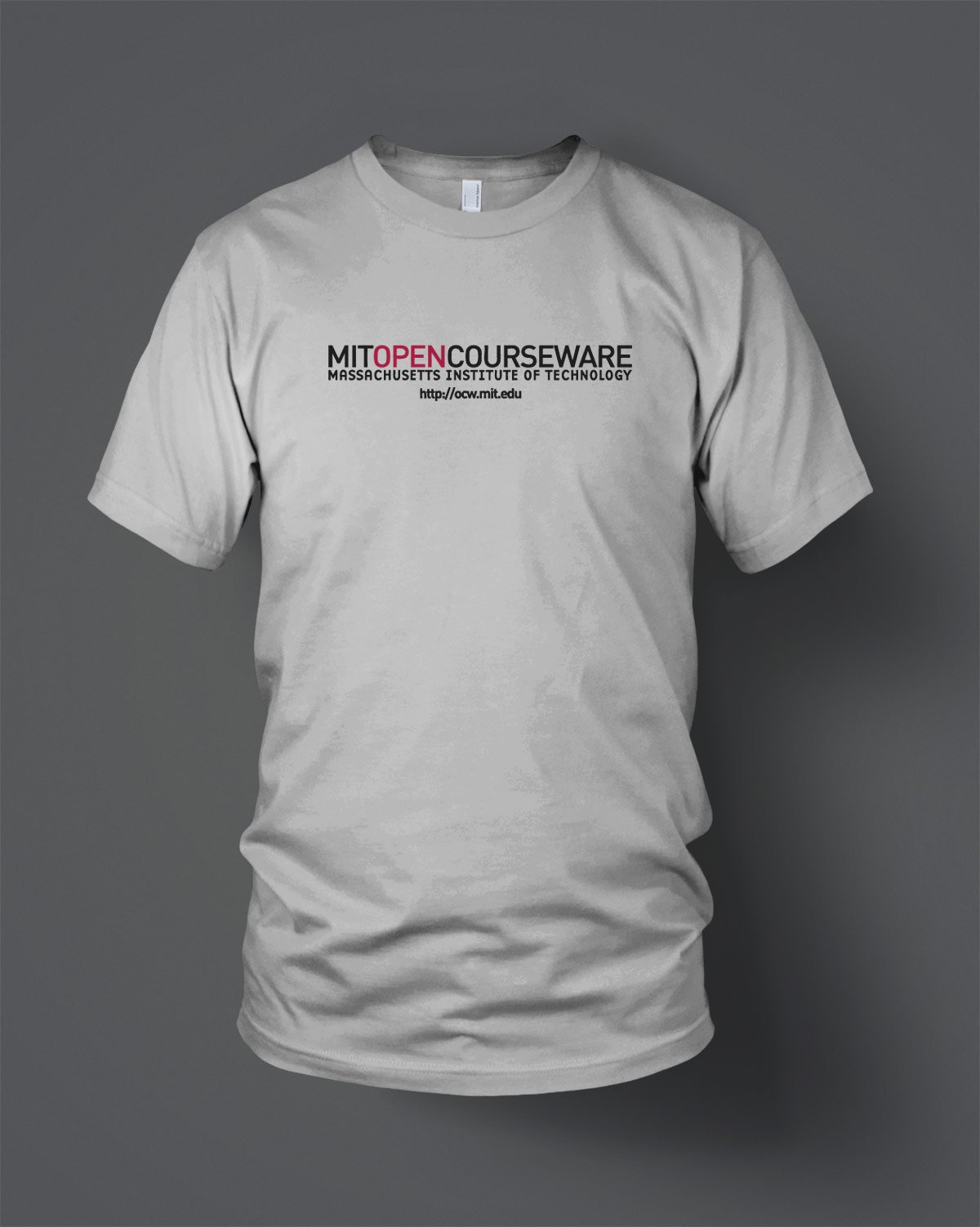 new style 90296 3beaa MIT OpenCourseWare Custom T-Shirts - Evan Webster INK