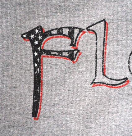 crossfit florian screen printed american apparel bb401 flag t-shirt grey