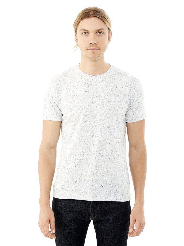alternative waterline textured t-shirt