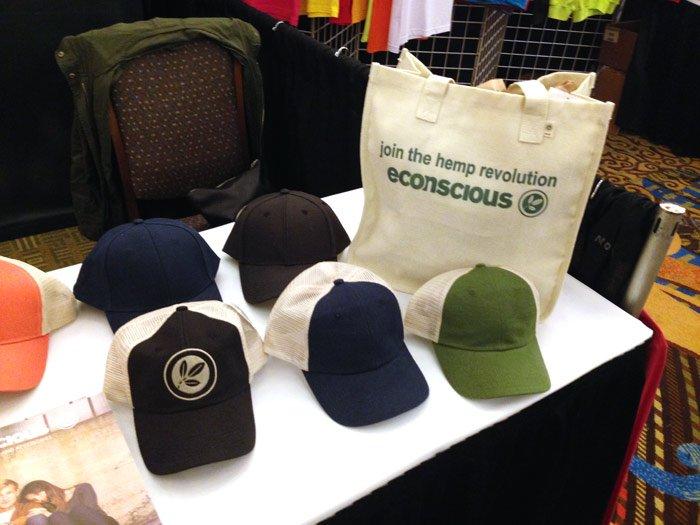 hemp t-shirts hats and tote bags