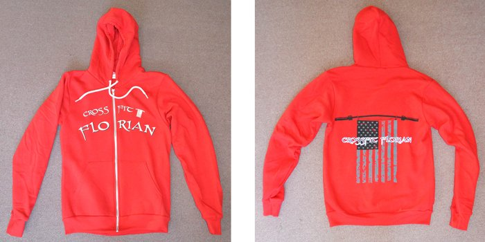crossfit-florian-over-zipper-screen-printed-american-apparel-zip-up-hoodie