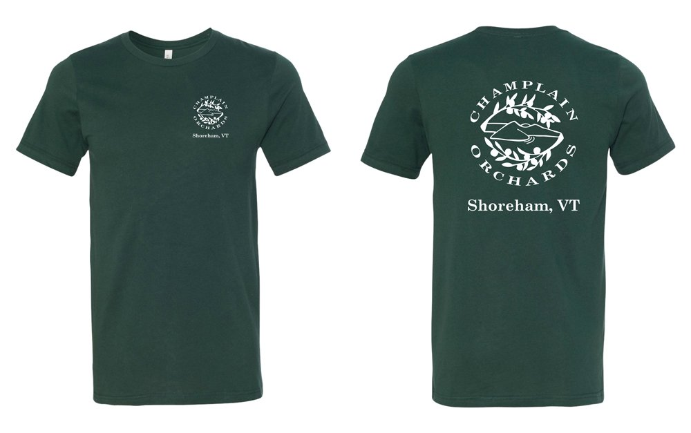 Champlain Orchards Custom Screen Printed Apparel T-shirt