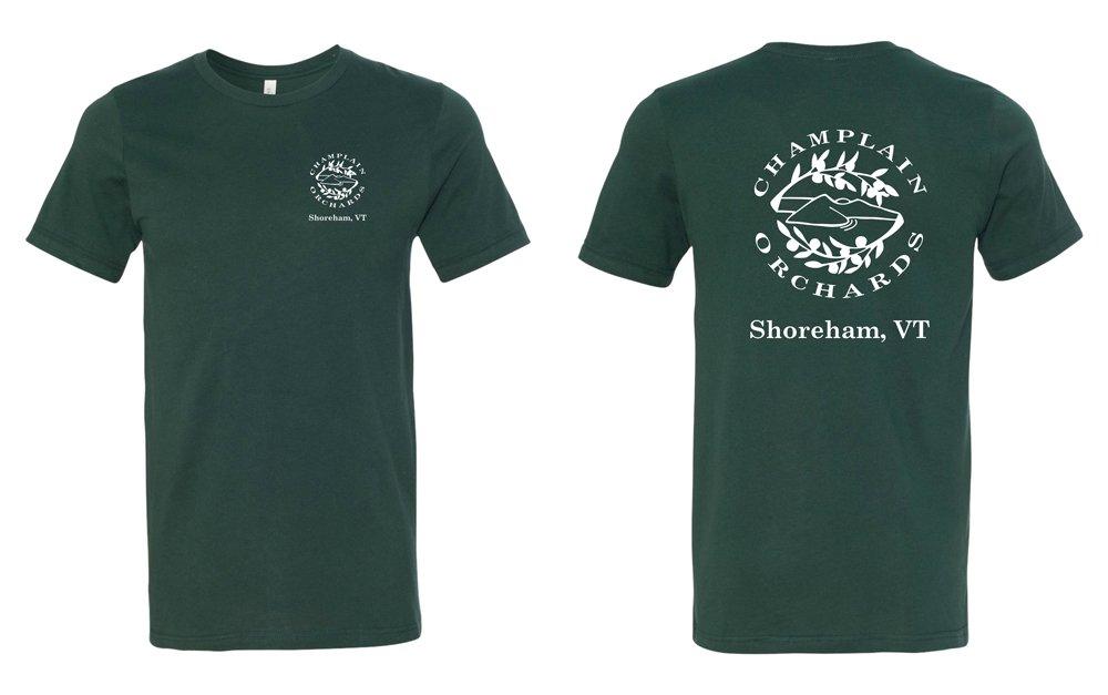 Champlain Orchards Custom Screen Printed Apparel T-shirt
